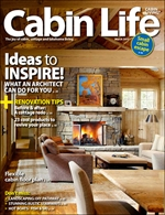 Cabin Life Magazine - see stairs feature HERE