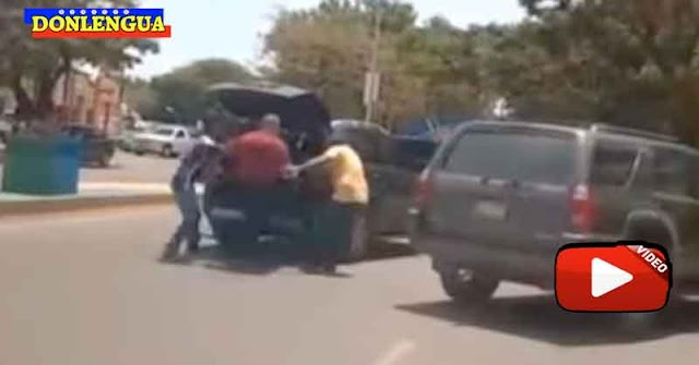 Comerciante peleó con dos ladrones que le querían robar una camioneta y una planta en Coro