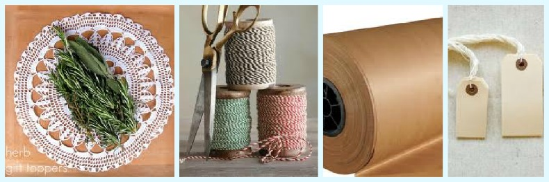 coastal gift wrap supplies
