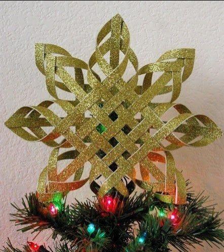 Cmo hacer preciosas estrellas de navidad El Cmo de las Cosas