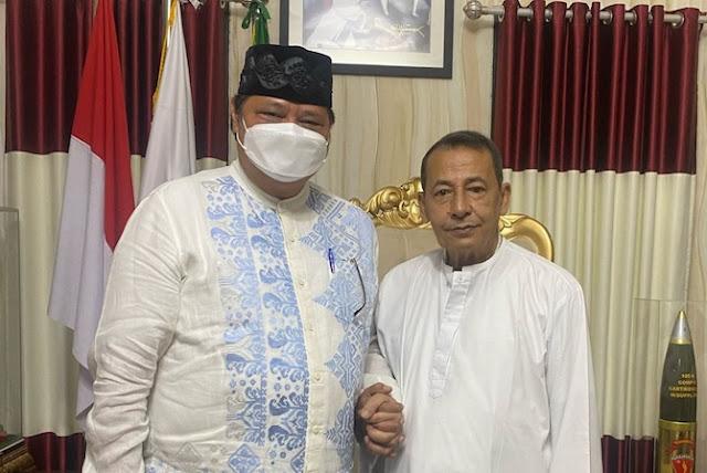 Gerilya Persiapan Nyapres 2024, Airlangga Sowan ke Habib Luthfi
