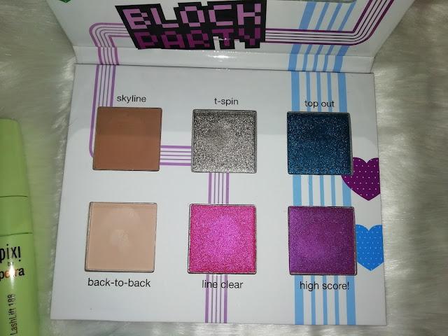 Tetris by Ipsy paleta