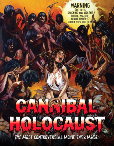 Movie poster Cannibal Holocaust 1980