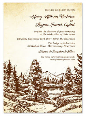 Wilderness Invitations