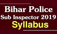 bihar daroga syllabus in hindi