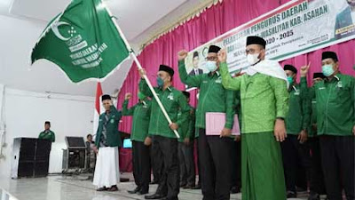 PD Majelis Lembaga Al-Washliyah Kabupaten Asahan 2020-2025 Dilantik
