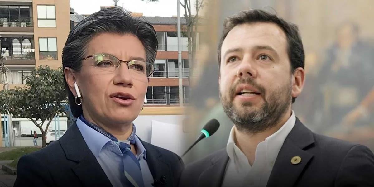 """""""Para proteger la popularidad la alcaldesa niega el problema"""": Galán a López sobre inseguridad"""