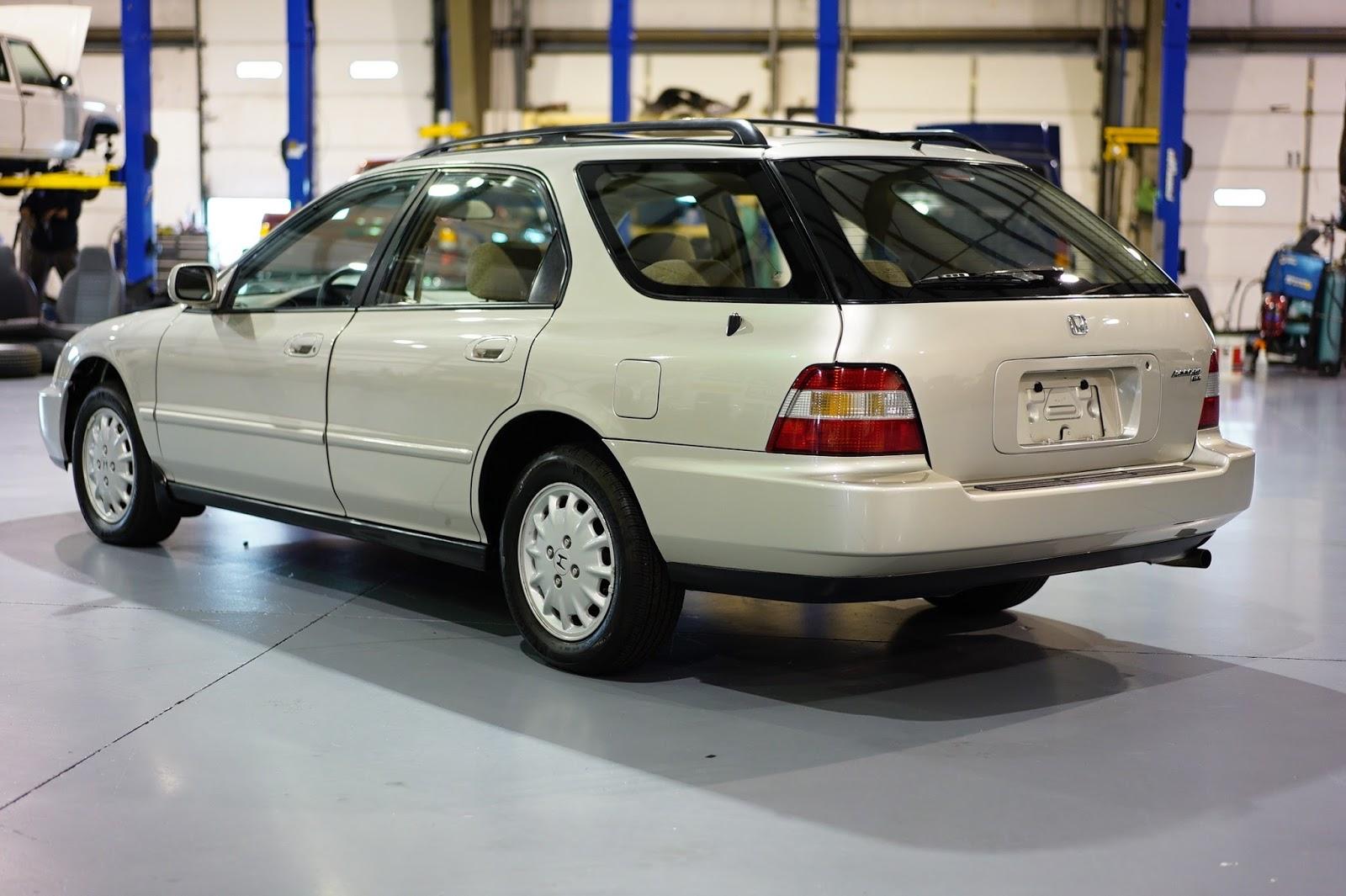auction watch 1996 honda accord ex wagon 5 door dailyturismo auction watch 1996 honda accord ex
