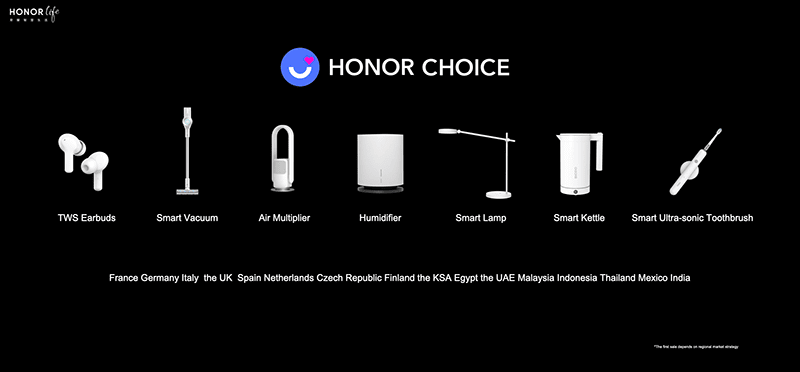 HONOR announces new Smart Home lineup including All-Around TWS Earbuds X1
