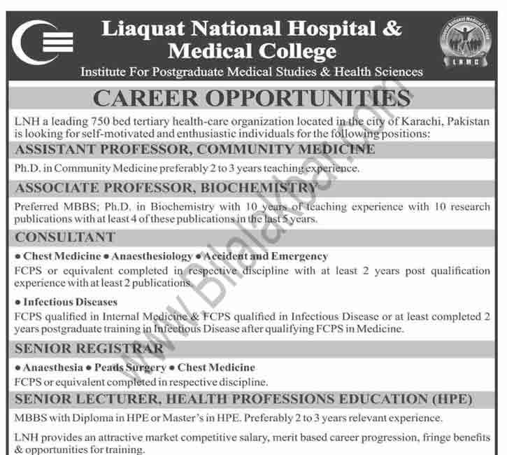 Jobs in Institute For Postgraduate Medical Studies & Health Sciences