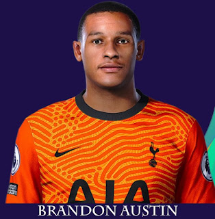 PES 2021 Faces Brandon Austin by Rachmad ABs