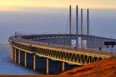 Oresund Bridge, Denmark-Sweden