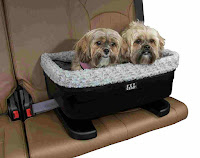 Pet Gear Bucket Booster Car Seat for Dogs
