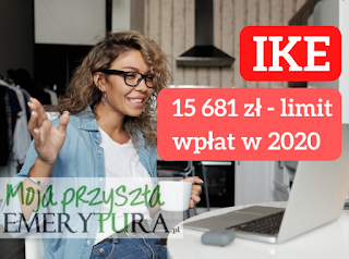 Limit wpłat na IKZE w 2020