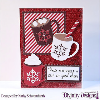 Stamp/Die Duos: Cocoa & Coffee, Custom Dies: Rectangles, Scalloped Rectangles, Scalloped Squares, Square, Paper Collections: America The Beautiful, Latte Love, Patriotic