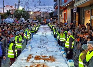 Η μεγαλύτερη Βασιλόπιτα θα δημιουργηθεί και φέτος στο Περιστέρι!