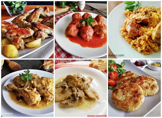 6 Recetas de pollo fácil y rápidas de preparar