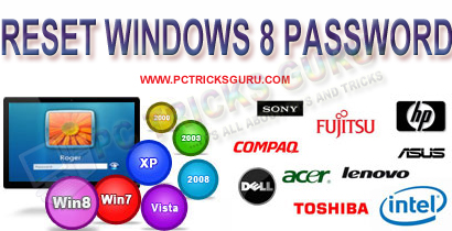 How To Reset Windows 8 Password