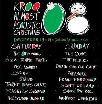 Kroq Almost Acoustic Christmas.Music Art Vcl Scott Weiland Live At Kroq Almost Acoustic