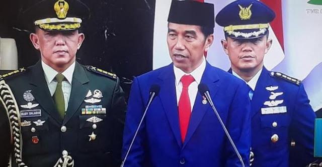 Tak Singgung Soal Rasuah, Komitmen Pemberantasan Korupsi Jokowi Dipertanyakan