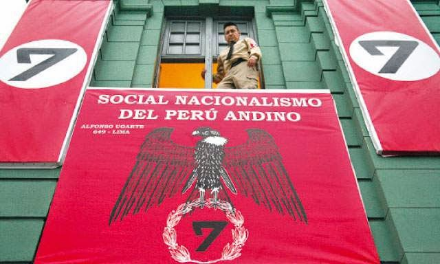 Even Peru has got in on the Nazi act.