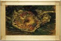 Первая серия «Подсолнухов» ван Гога выполнена в Париже в 1887 году