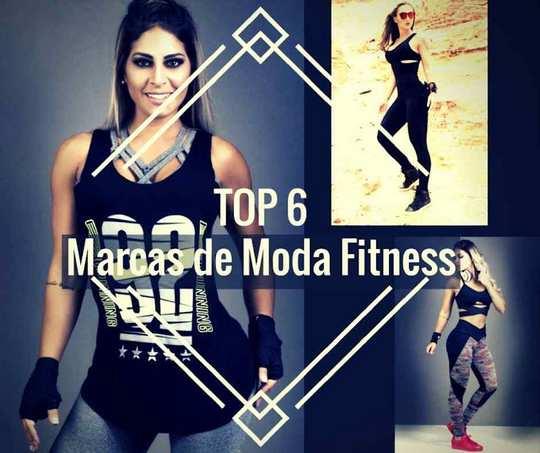 Top 6 Marcas de Moda Fitness