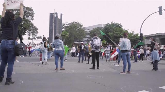 Panameños critican el desempeño del Gobierno ante coronavirus