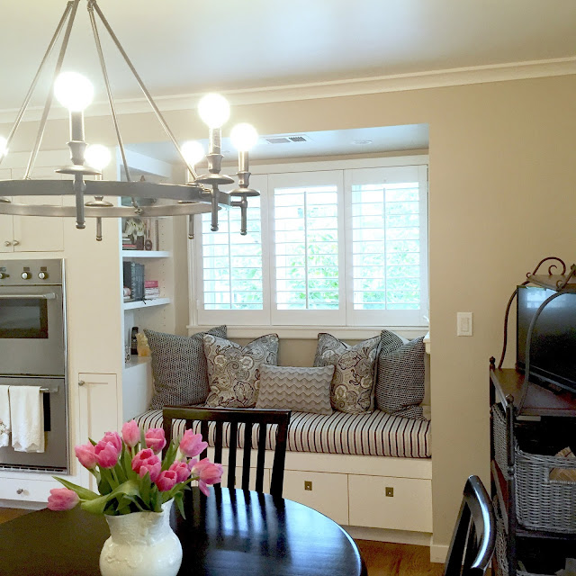 Ballard Pendants and Pottery Barn Chandelier