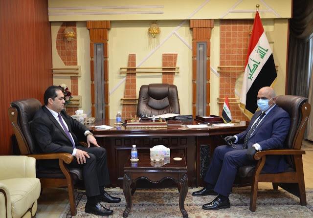 وزير التعليم يناقش مع مستشار رئيس الوزراء ملف أصحاب العقود في مؤسسات التعليم العالي