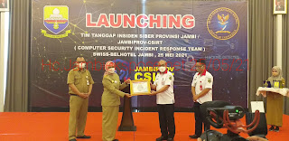 Pj Gubernur Jambi Launching Tim Tanggap Insiden Siber Provinsi/JAMBIPROV-CSIRT.