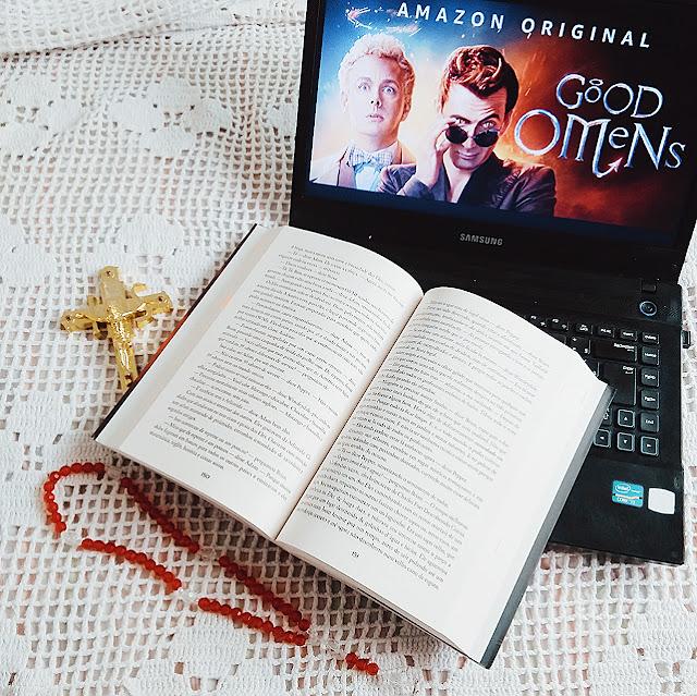 livro good omes