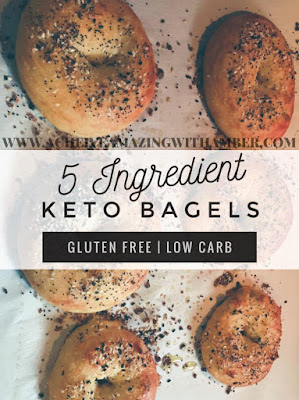 keto, low carb, keto bagels, trader joes, everything bagels, ketones, ketosis, keto everything bagels