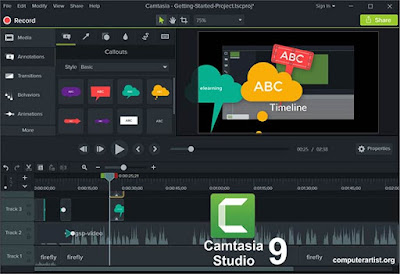 TechSmith Camtasia Studio 9 Free Download