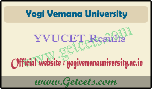 YVUCET 2021 Result manabadi, yvu pg entrance counselling