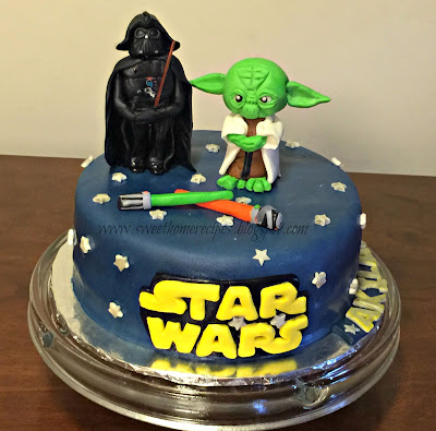 Sweet Home Recipes Star Wars Themed Cake
