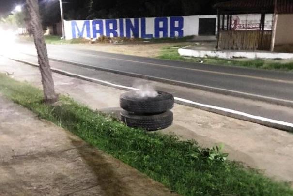 Mãe e filha ficam feridas após serem atindigidas por roda de caminhão em Campo Maior