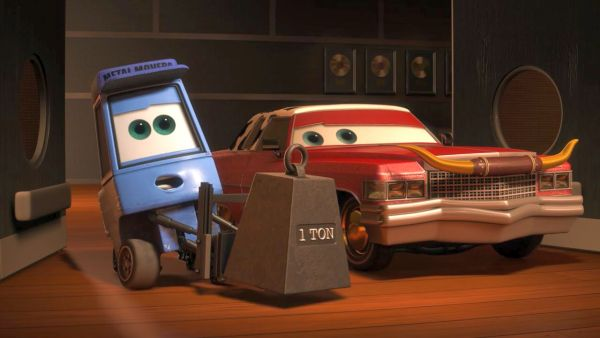Where do you want this heavy metal, Mater?