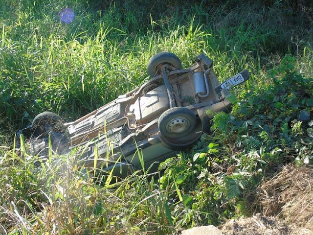 Grave acidente envolvendo um Fiat Strada e um caminhão deixa uma vitima fatal na BR 364