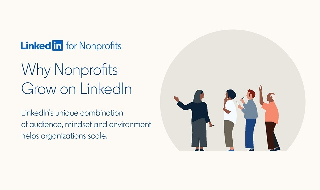 LinkedIn's role in the growth of nonprofits