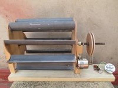 كيف تصنع توربين عمودي منتج للطاقة