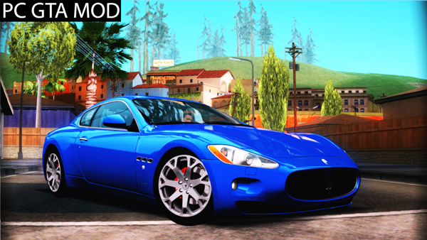 Free Download Maserati Gran Turismo 2008 Mod for GTA San Andreas