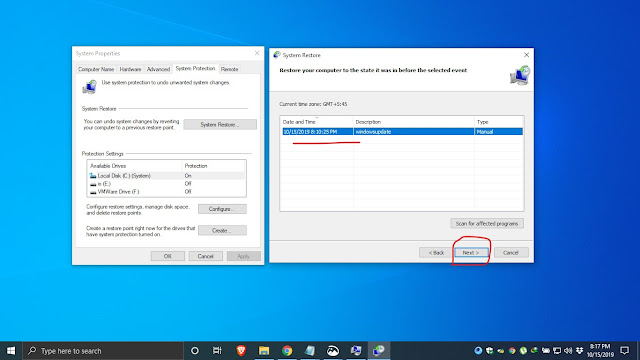 how to use system restore in windows 10