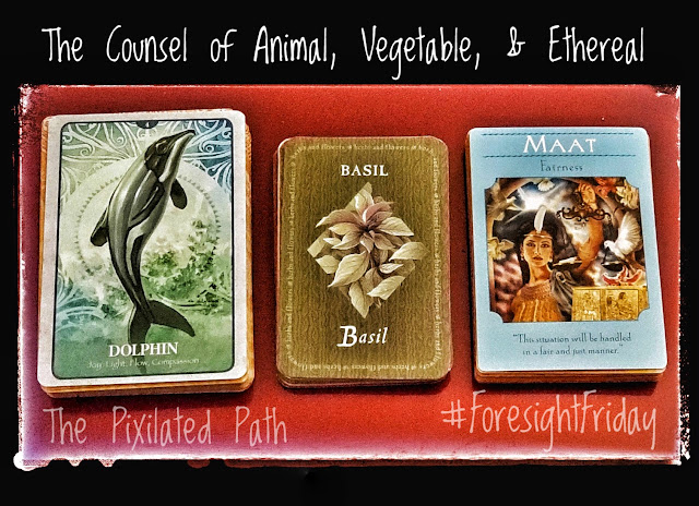 The Counsel of Animal, Vegetable, & Ethereal #ForesightFriday