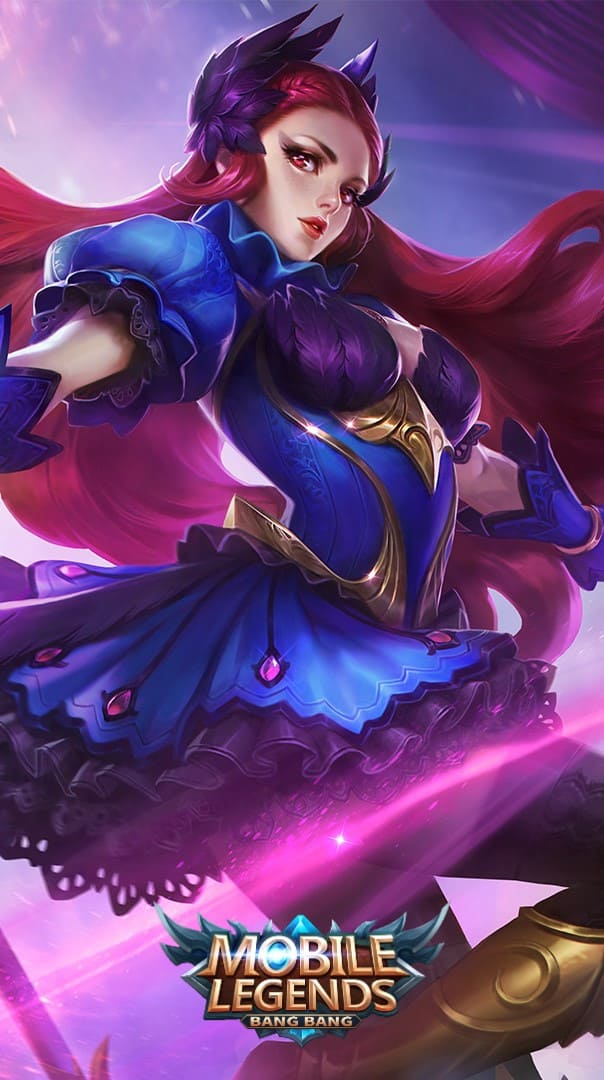 Wallpaper Odette Black Swan Skin Mobile Legends HD for Android and iOS