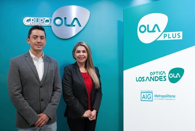 """Óptica Los Andes presenta su servicio de garantía extendida """"OLA PLUS"""""""