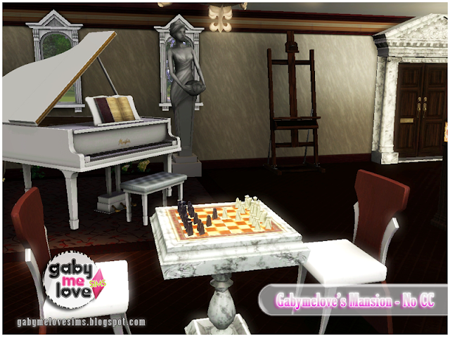 Gabymelove's Mansion |NO CC| ~ Lote Residencial, Sims 3. Piano.