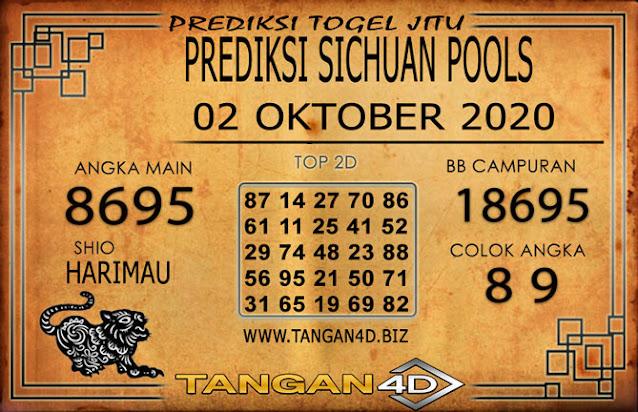 PREDIKSI TOGEL SICHUAN TANGAN4D 02 OKTOBER 2020