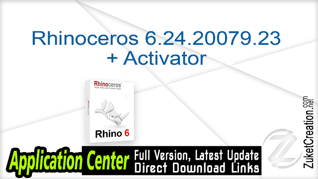 Rhinoceros 6.24.20079.23341 + Activator