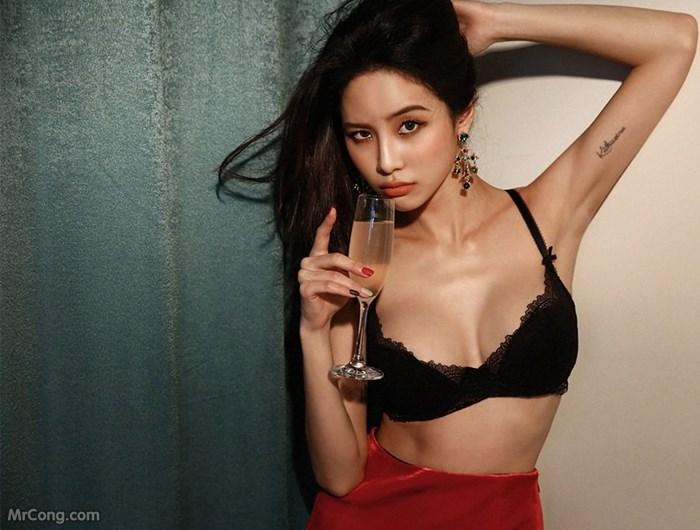Image Korean-Model-Ju-Woo-012018-MrCong.com-002 in post Người đẹp Ju Woo trong bộ ảnh nội y tháng 01/2018 (50 ảnh)